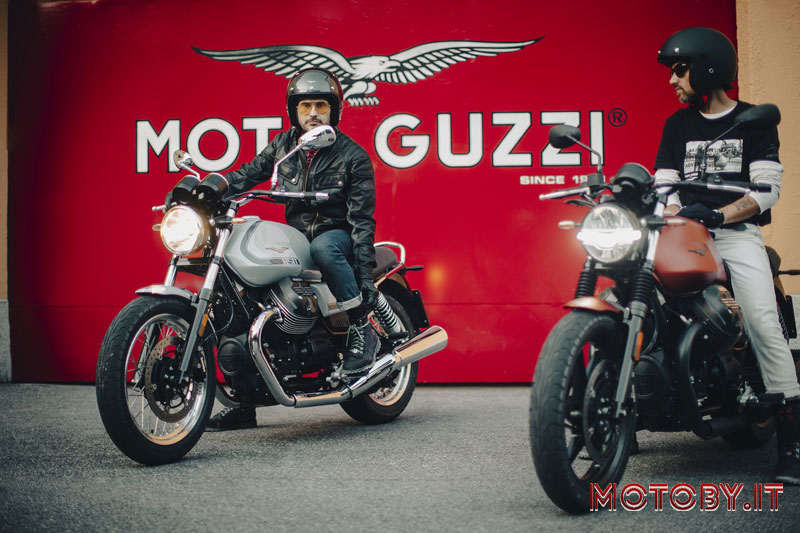 Moto Guzzi e Timberland