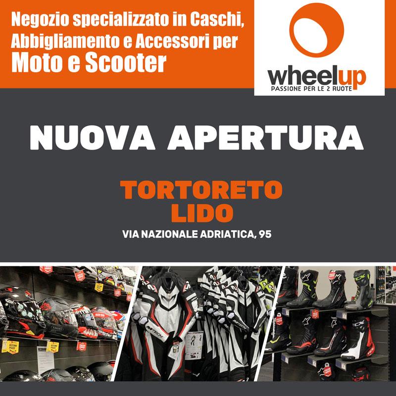 Wheelup nuova apertura