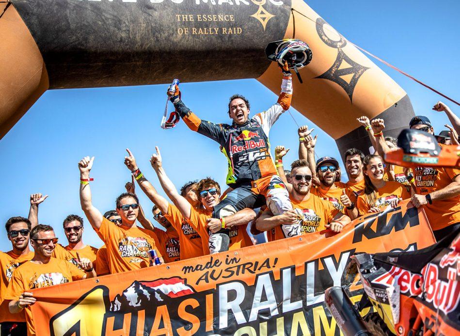 Marocco: Walkner vince il Campionato di Cross-County Rally