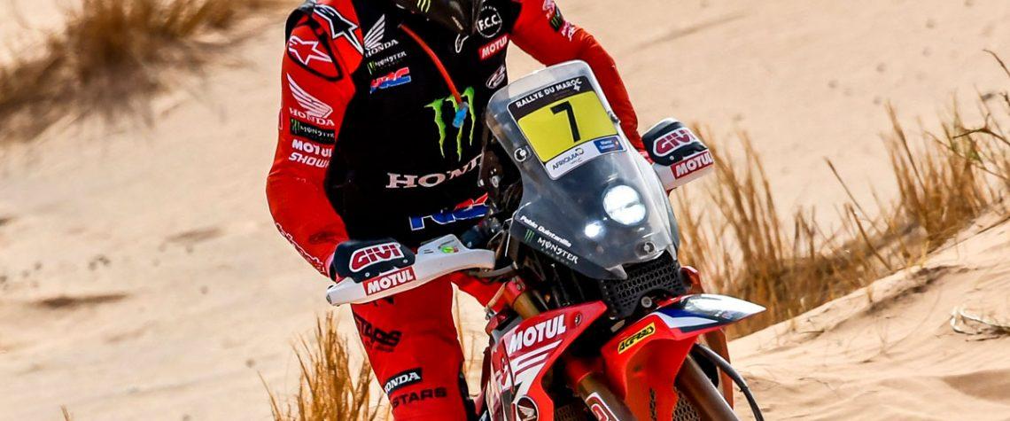 Rallye du Maroc per il Monster Energy Honda Team.